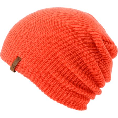 Empyre Girls Piper Hot Coral Beanie