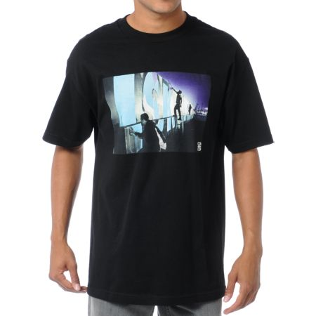 The Seventh Letter Nightlife Black Tee Shirt