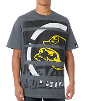 Metal Mulisha Strategic Grey Tee Shirt