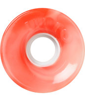 OJ III Hot Juice 60mm Red & White Swirl Longboard Wheels