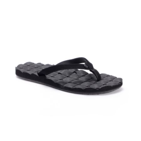Volcom Girls Recliner Black Sandals