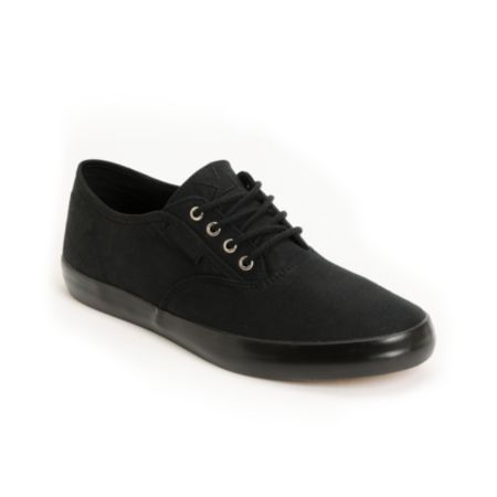 Dekline Daily Black Twill Skate Shoe
