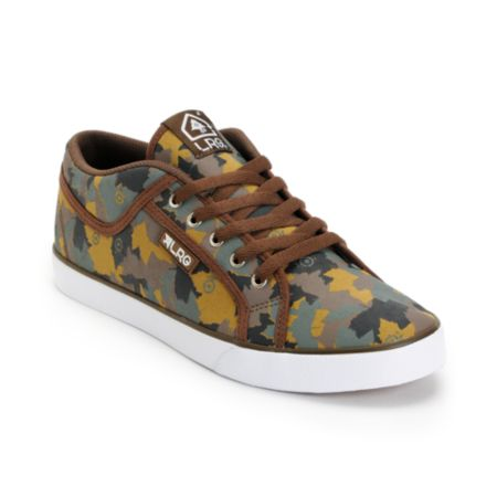 LRG Maple Camo Canvas Shoe