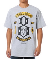 REBEL8 Originals Grey Tee Shirt