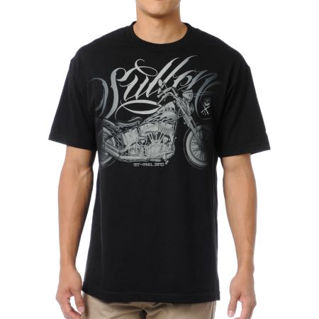 Sullen Pan Head Black Tee Shirt