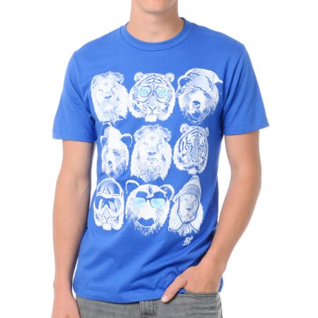 A-Lab Animal Attire Blue Tee Shirt