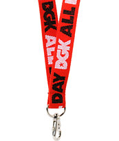 DGK All Day Red & Black Lanyard