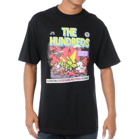 The Hundreds Doomsday Black Tee Shirt