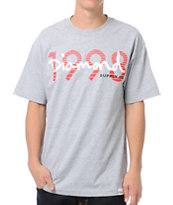 Diamond Supply OG Script Grey Tee Shirt