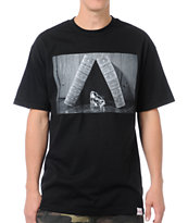 Diamond Supply Life and Times Black Tee Shirt