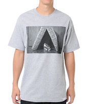 Diamond Supply Life and Times Grey Tee Shirt