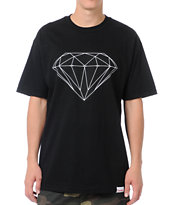 Diamond Supply Big Brilliant Black Tee Shirt