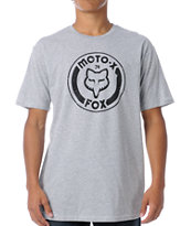 Fox Heritage Heather Grey Tee Shirt