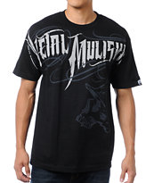 Metal Mulisha Eager Black Tee Shirt