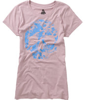 Volcom Girls Dead Sea Purple Tee Shirt