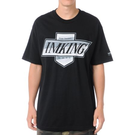 IMKing Ellie Black Tee Shirt