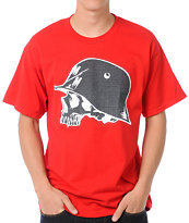 Metal Mulisha Grip Red Tee Shirt