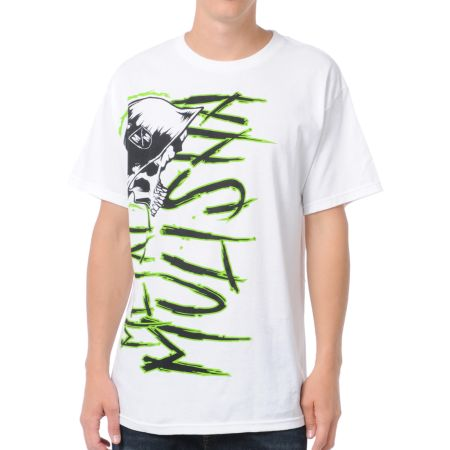 Metal Mulisha Evets White Tee Shirt