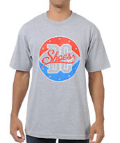 DC Shoes Display Grey Tee Shirt