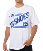 DC Shoes Benched White Tee Shirt