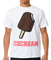 ICECREAM Pop Bar White Tee Shirt