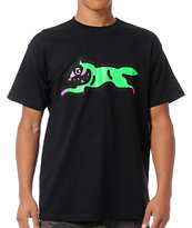 ICECREAM Running Dog 2 Black Tee Shirt