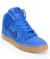 Nike SB Dunk High LR Royal & Blue Skate Shoe