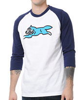 ICECREAM Running Dog 2 Baseball Tee Shirt