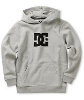 DC Boys Star Heather Grey Pullover Hoodie