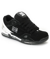 DC Versaflex Black & White Skate Shoe