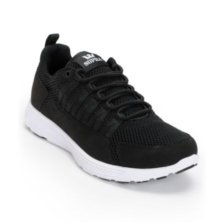 Supra Owen Black & White Shoe