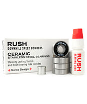 Rush Ceramic Black Balls Skateboard Bearings