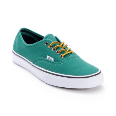 Vans Authentic Hiker Verdant Green Skate Shoes