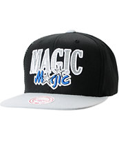 NBA Mitchell and Ness Orlando Magic Side Logo Snapback Hat