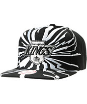 NHL Mitchell and Ness Kings Earthquake Snapback Hat