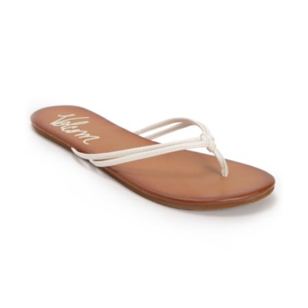 Volcom Girls Forever White Creedler Sandals