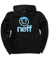 Neff Boys Sucker Spritz Black Pullover Hoodie
