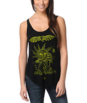 Obey Storm On The Horizon Black Melody Tank Top