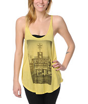 Obey A Go-Go Yellow Melody Tank Top