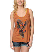 Obey Taking Flight Brown Rookie Tank Top