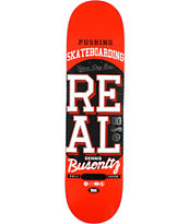 Real Busenitz Pushing R1 8.25 Skateboard Deck