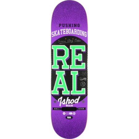 Real Ishod Pushing R1 8.38 Skateboard Deck