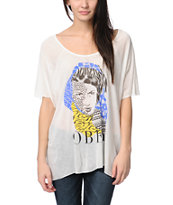 Obey High Jungle White Harmony Top