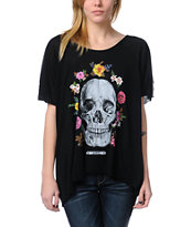 Obey Reincarnation Black Harmony Top