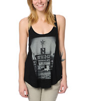 Obey A Go-Go Black Melody Tank Top