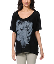Obey Whats Her Name Black Harmony Top