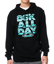 DGK All Day Snake Black Pullover Hoodie