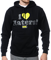 DGK Safari I Heart Haters Black Pullover Hoodie