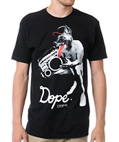 Empyre Dope Dog Black Tee Shirt