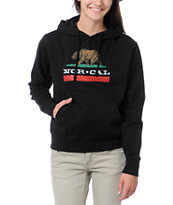 Nor Cal Girls Republic Black Pullover Hoodie